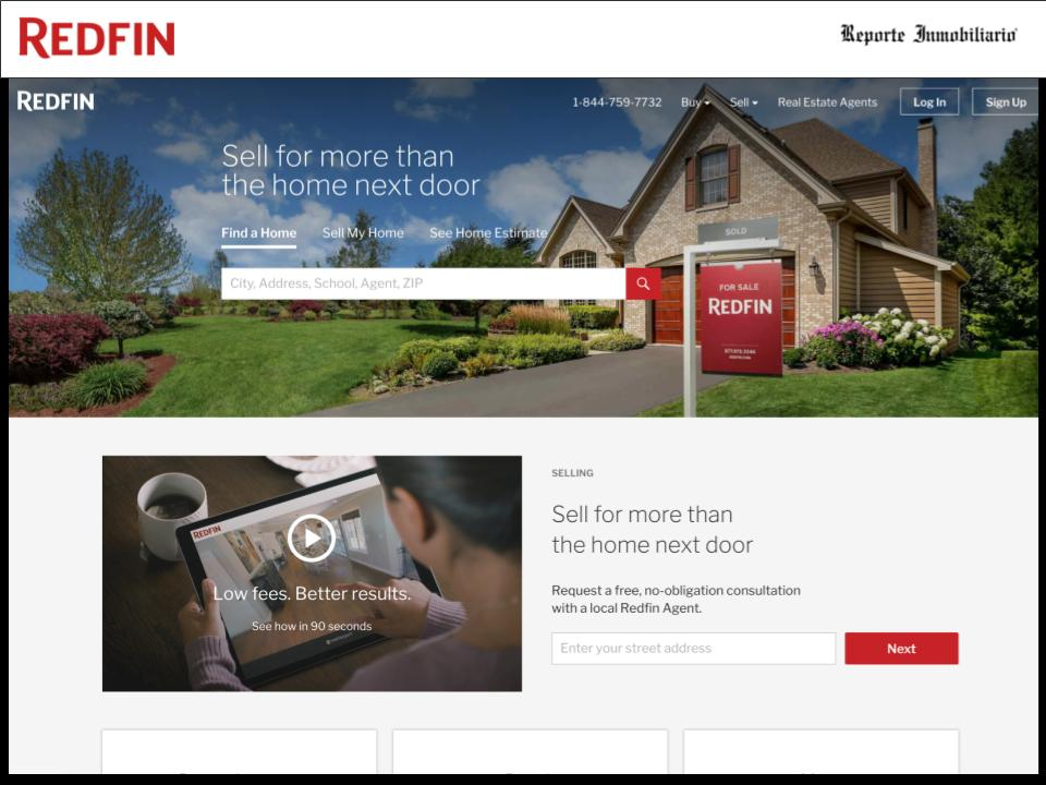 Redfin Inmobiliaria Virtual